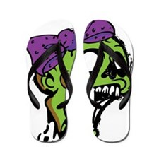 Zombie Bow Flip Flops
