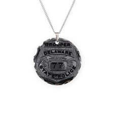 Delaware State Police badge Necklace