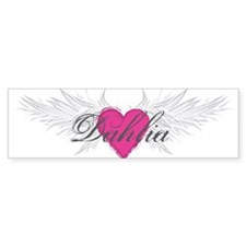 My Sweet Angel Dahlia Bumper Sticker