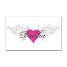 My Sweet Angel Dahlia Car Magnet 20 x 12