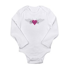 My Sweet Angel Dahlia Long Sleeve Infant Bodysuit