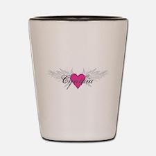 My Sweet Angel Cynthia Shot Glass