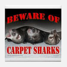 Carpet Shark Tile Coaster
