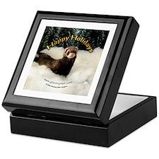 Ferret 2 Keepsake Box