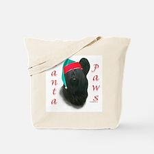 Santa Paws Skye Terrier  Tote Bag