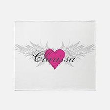 My Sweet Angel Clarissa Throw Blanket
