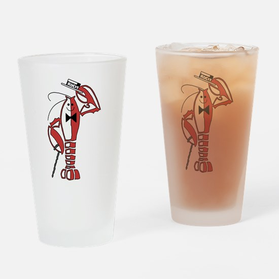 Rocky Lobster Drinking Glass