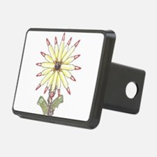 Freedom Flower Hitch Cover