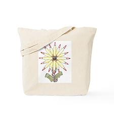 Freedom Flower Tote Bag