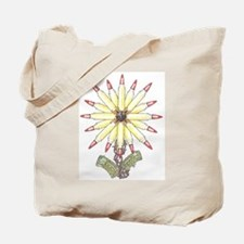 Freedom Flower Tote Bag