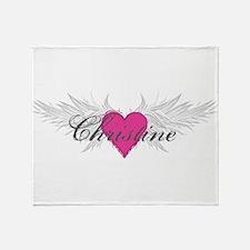 My Sweet Angel Christine Throw Blanket