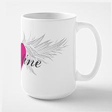 My Sweet Angel Christine Large Mug