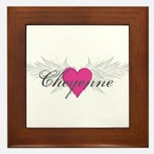 My Sweet Angel Cheyenne Framed Tile