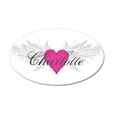 My Sweet Angel Charlotte 35x21 Oval Wall Decal