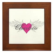My Sweet Angel Charlotte Framed Tile