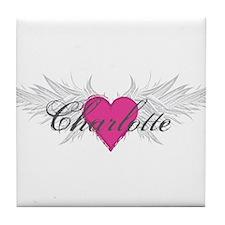 My Sweet Angel Charlotte Tile Coaster