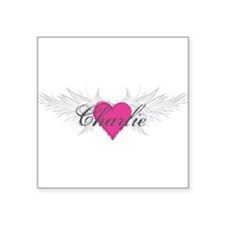 "My Sweet Angel Charlie Square Sticker 3"" x 3"""