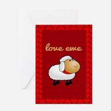 Love Ewe Greeting Card