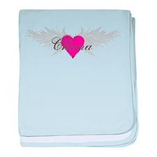My Sweet Angel Chana baby blanket