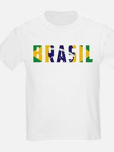 Brasil-Brazil Flag T-Shirt