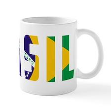 Brasil-Brazil Flag Mug