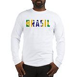 Brazilian Long Sleeve T-shirts