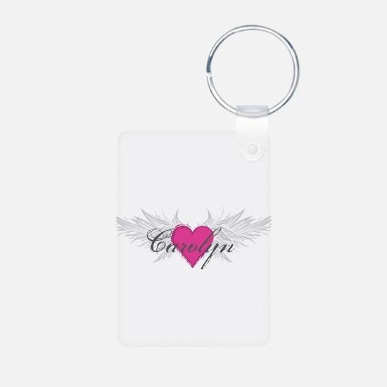My Sweet Angel Carolyn Aluminum Photo Keychain