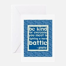 Be Kind - Inspirational Greeting Card
