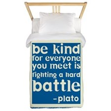 Be Kind - Inspirational Twin Duvet