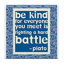 Be Kind - Inspirational Tile Coaster