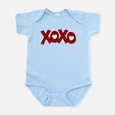 Hugs Kisses Hearts Infant Bodysuit