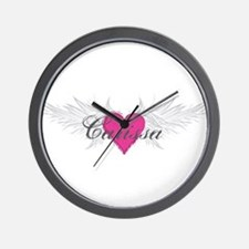 My Sweet Angel Carissa Wall Clock