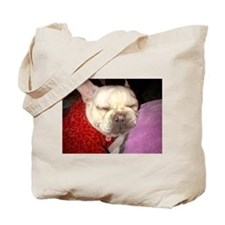 Sleeping Betty Tote Bag