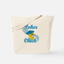 Poker Chick #3 Tote Bag