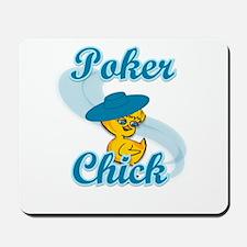 Poker Chick #3 Mousepad