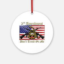 2nd Amendment Ornament (Round)