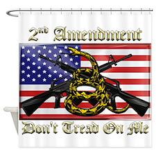 2nd Amendment Shower Curtain