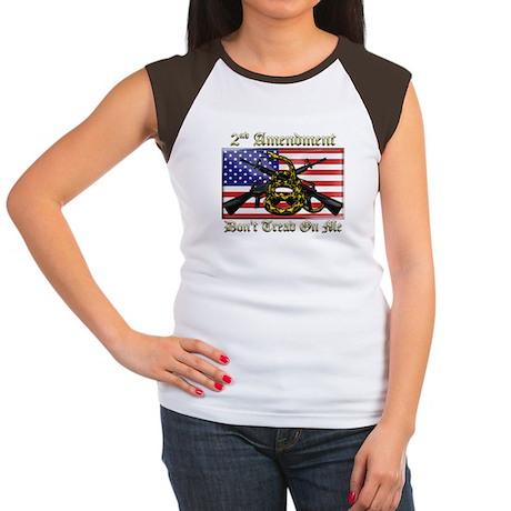2nd Amendment Women's Cap Sleeve T-Shirt