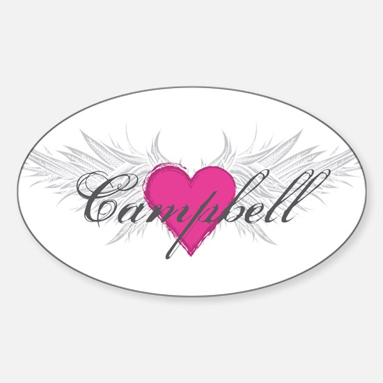 My Sweet Angel Campbell Sticker (Oval)