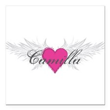 "My Sweet Angel Camilla Square Car Magnet 3"" x 3"""