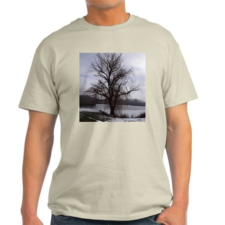 Peaceful Willow Tree Light T-Shirt