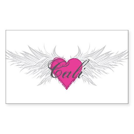 My Sweet Angel Cali Sticker (Rectangle)