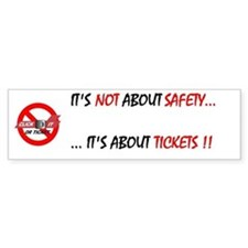 Click It Bumper Car Sticker