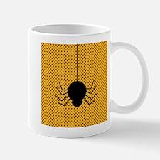 Halloween Spider on Orange Mug