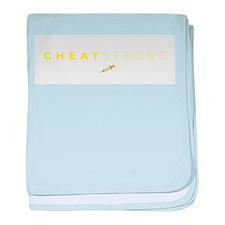 cheatstrong baby blanket