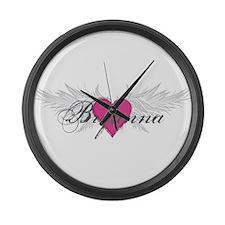 My Sweet Angel Bryanna Large Wall Clock