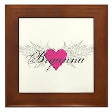 My Sweet Angel Bryanna Framed Tile