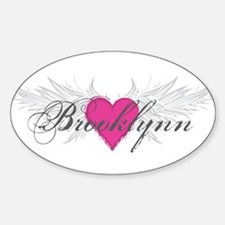 My Sweet Angel Brooklynn Sticker (Oval)