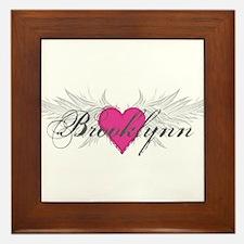 My Sweet Angel Brooklynn Framed Tile