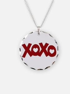 Hugs Kisses Hearts Necklace
